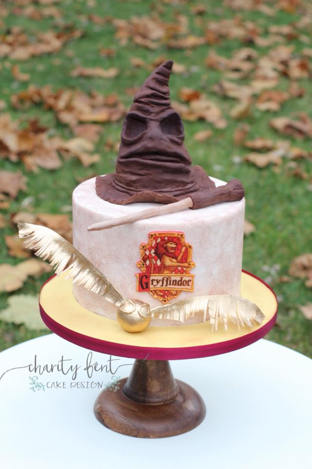 Harry Potter Cake 187 Charity Fent Cake Design