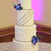 Silver Bling Wedding Cakes Missouri