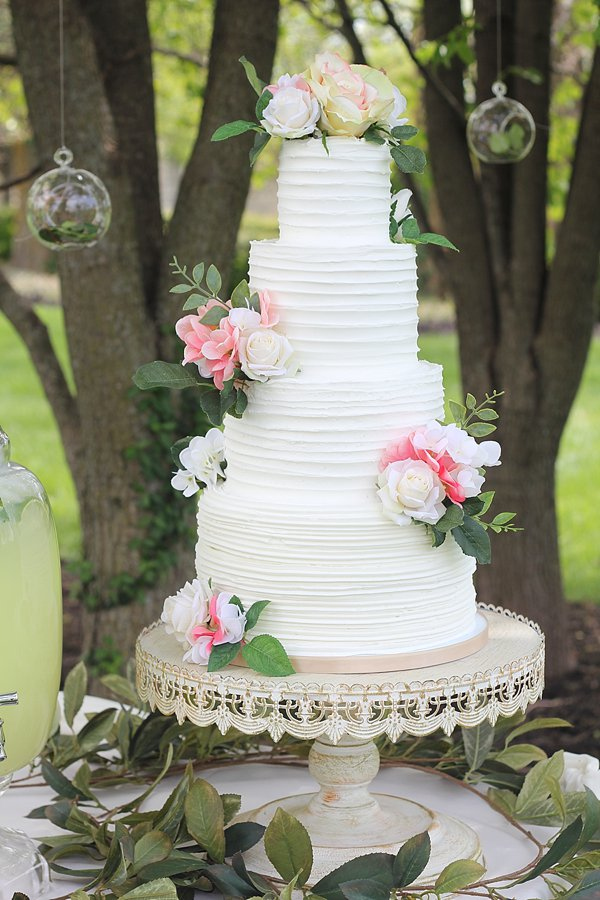 Buttercream Wedding Cakes Missouri