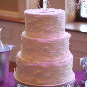 White Ruffles Wedding Cakes Missouri