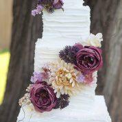 Square Buttercream Wedding Cakes Missouri