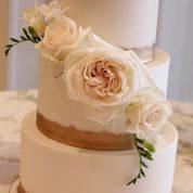 Fondant Gold Wedding Cakes Missouri