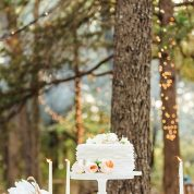 Rustic ruffles Wedding Cakes Missouri