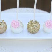 Gold Sprinkles Sparkles Cake Pops Springfield MO