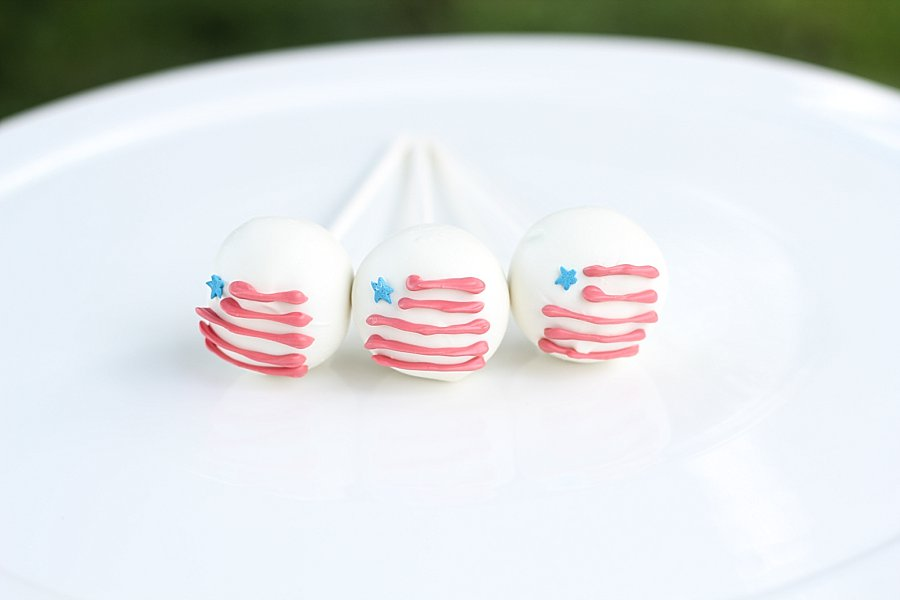 American Flag Cake Pops Springfield MO