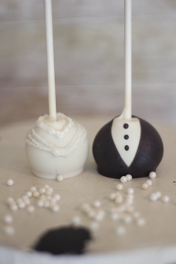 Bride groom Cake Pops Springfield MO