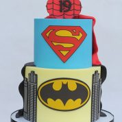 Superman Batman Spiderman Groom