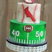 Football Baseball Baby Shower Cakes Springfield