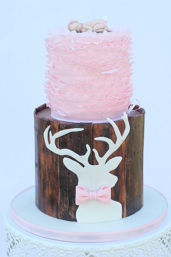 Deer Cake For Baby Showr