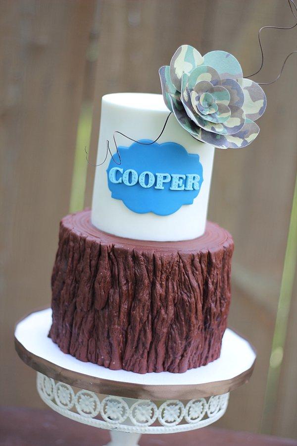 Tree Camo Baby Shower Cakes Springfield
