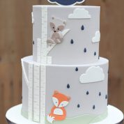 Fox Baby Shower Cakes Springfield