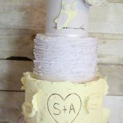 Owl Rustic Ruffles Baby Shower Cakes Springfield