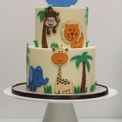 Jungle Animals Baby Shower Cakes Springfield