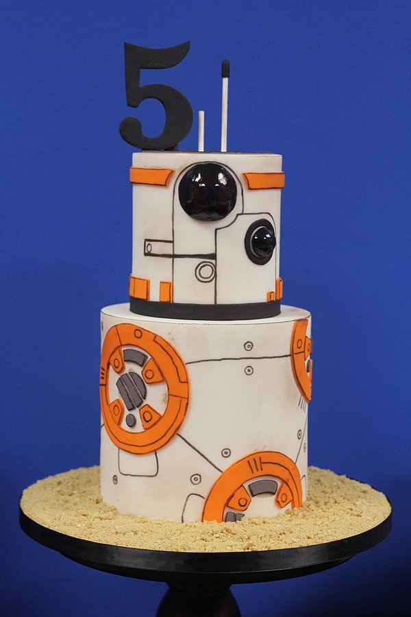 Robot Birthday Cakes Missouri