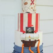 Pirate Ship Map Birthday Cakes Missouri