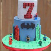 Batman Legos 7 Birthday Cakes Missouri