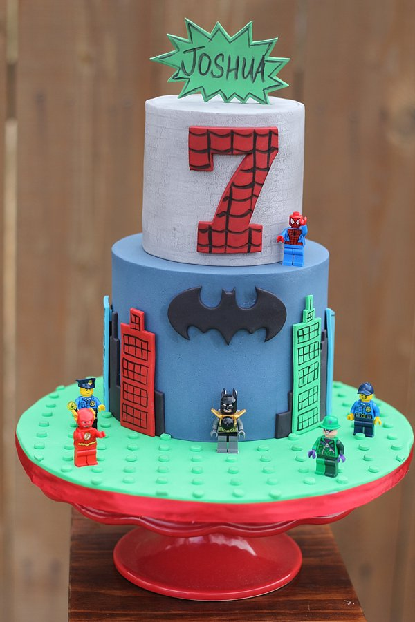 Batman Legos 7 Birthday Cakes Missouri