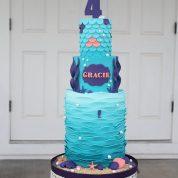Mermaid Swimming 4th Birthday Cakes Missouri