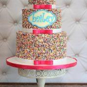 Sprinkles Bows Birthday Cakes Missouri