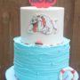 Bulldog Swimming Birthday Cakes Missouri