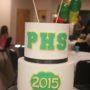 White Black Green Graduation Birthday Cakes Missouri