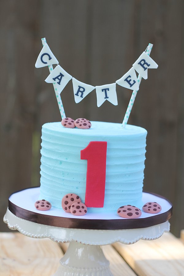 Smash Cake Cookies 1st Birthday Cakes Missouri
