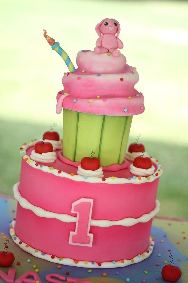 Cupcake Cake 1st Birthday Cakes Missouri