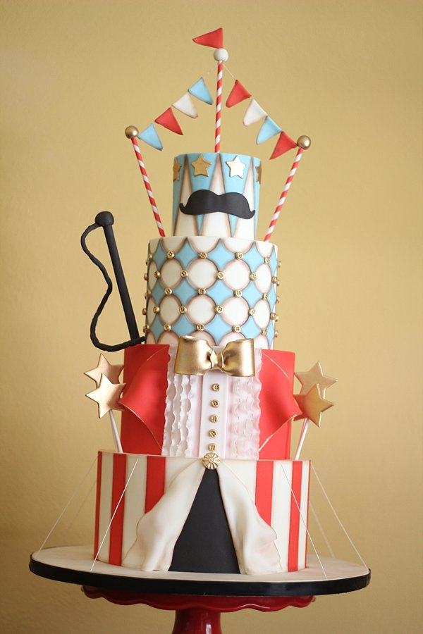 Circus Birthday Cakes Missouri