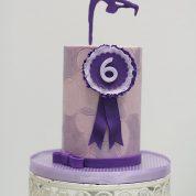 Gymnastics Purple Birthday Cakes Missouri
