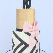 Gold Black 16 Birthday Cakes Missouri