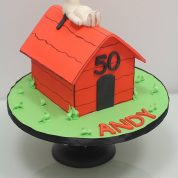 Snoopy Dog House Birthday Cakes Missouri