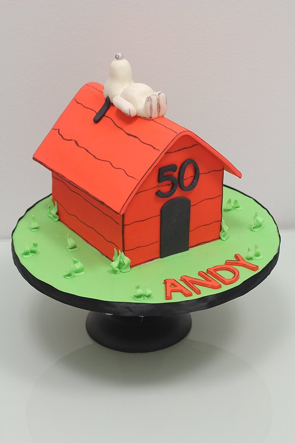 Snoopy Dog House Birthday Cakes Missouri