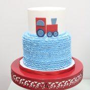 Train Ruffles Birthday Cakes Missouri