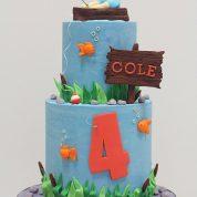 Fishing 4th Birthday Cakes Missouri