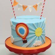 Sun balloon Birthday Cakes Missouri