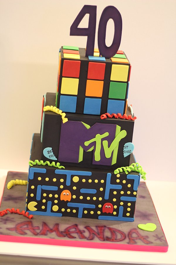 80's MTV Birthday Cakes Missouri