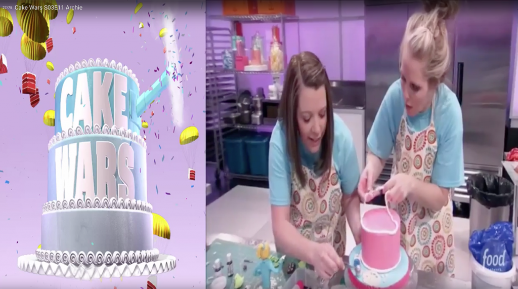 Charity Fent Cake Design on Cake Wars