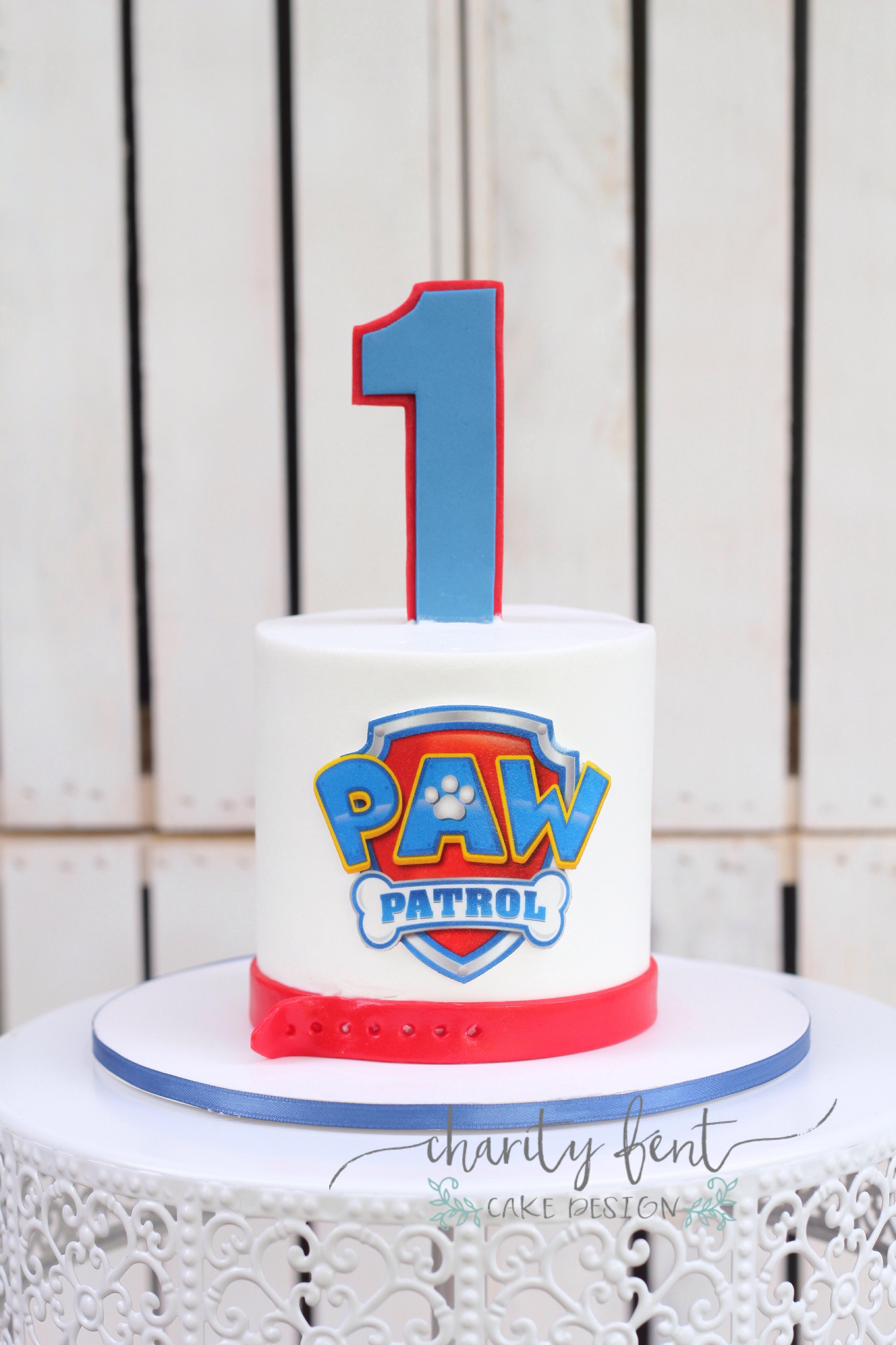 Paw Patrol Smash Cake