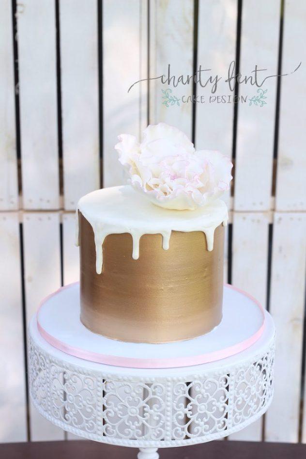 Simple cute cake
