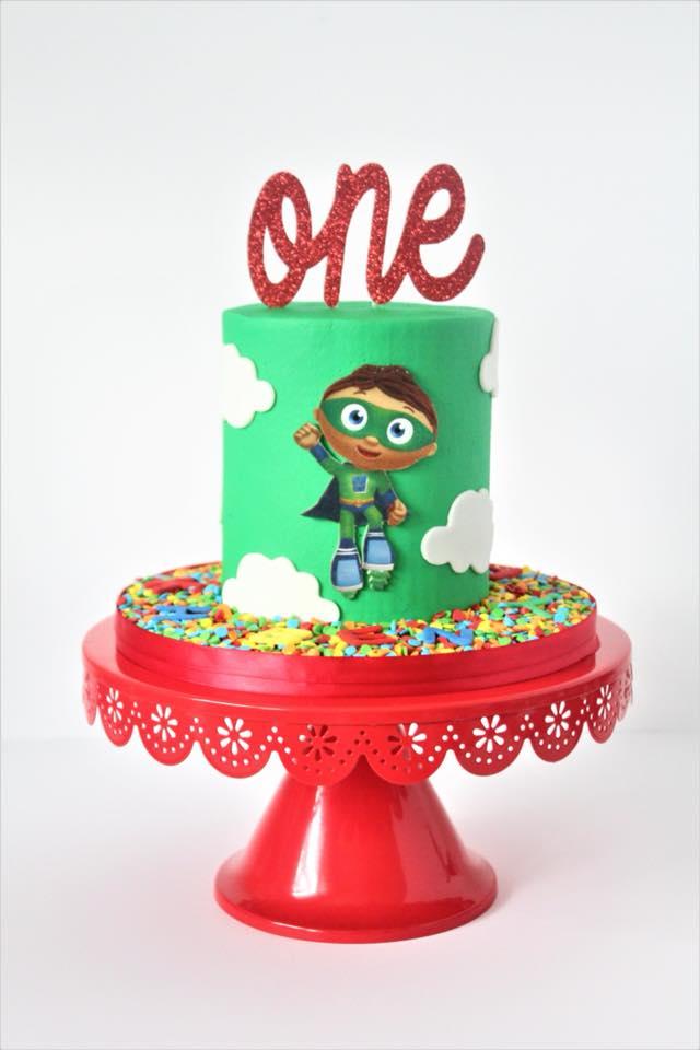 Super Why Smash Cake Charity Fent Cake Design
