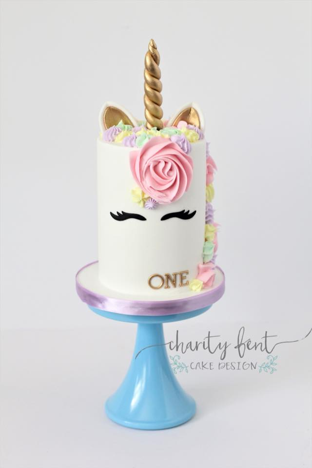 1st Birthday Unicorn Cake