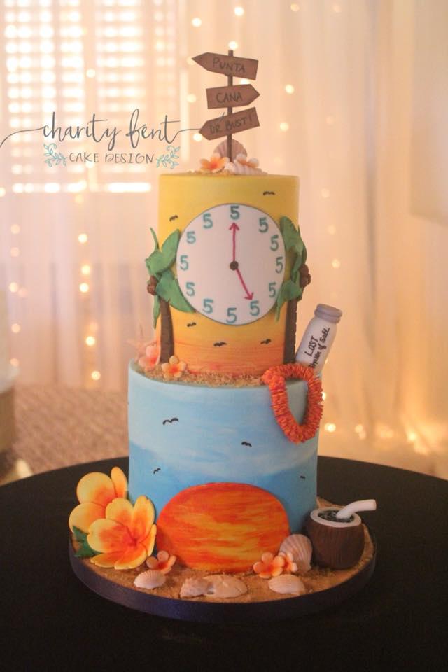 Margaritaville Groom's Cake