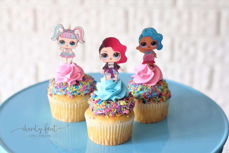 LOL Doll Cupcakes