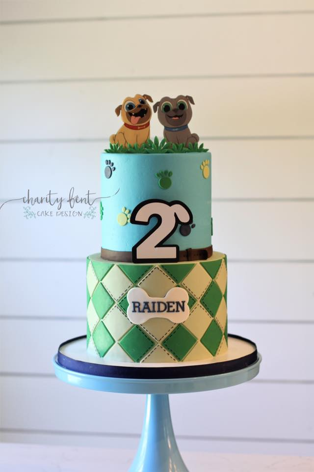 Puppy Pals Birthday Cake