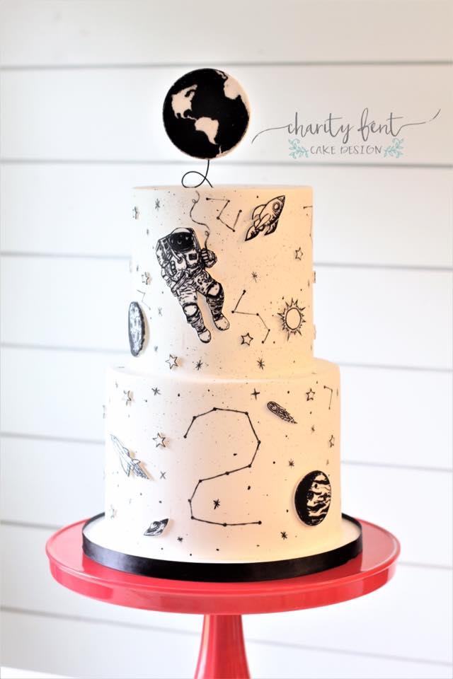 Monochrome Cake